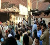 12 Dead, 15 Injured As Two-Storey Building Collapses Following Cylinder Blast In Uttar Pradesh's Mau