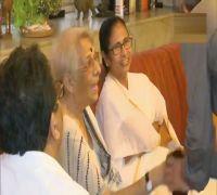 West Bengal Chief Minister Mamata Banerjee Pays Visit To Nobel Laureate Abhijit Banerjee's Home