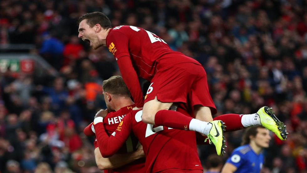 Liverpool have shot into an eight-point lead even over their closest challengers in City, thanks to a run of 17 straight Premier League wins stretching back to last season.