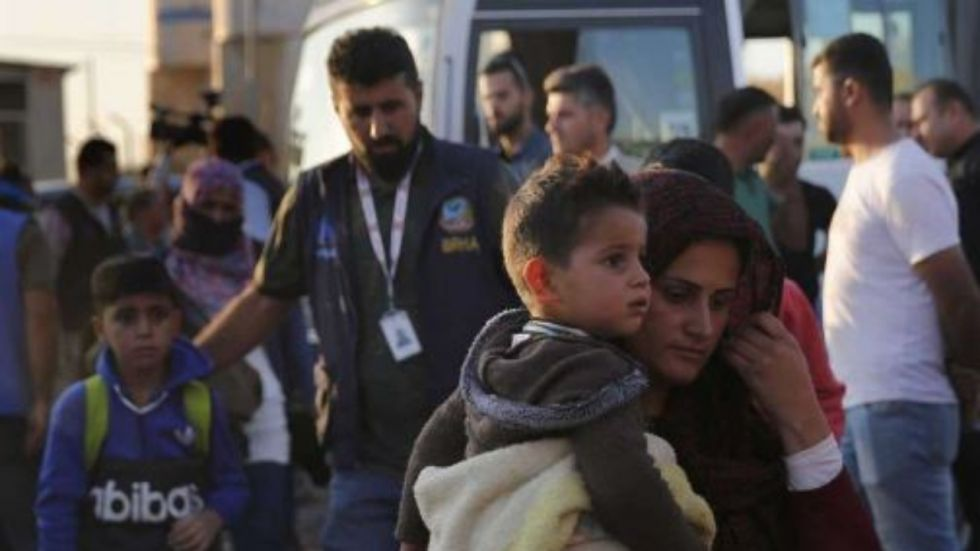More Than 2,300 Cross Into Iraq Fleeing Syria Fighting