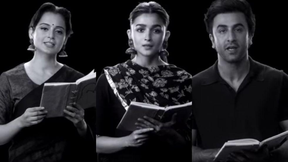 Kangana Features With Alia, Ranbir For Short Film On Gandhi's Teachings