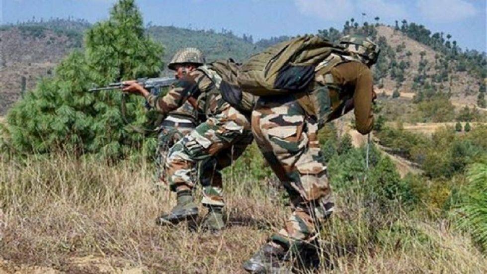 A civilian was injured on Sunday as Pakistani Rangers shelled mortars along the International Border (IB) in Kathua district of Jammu and Kashmir.