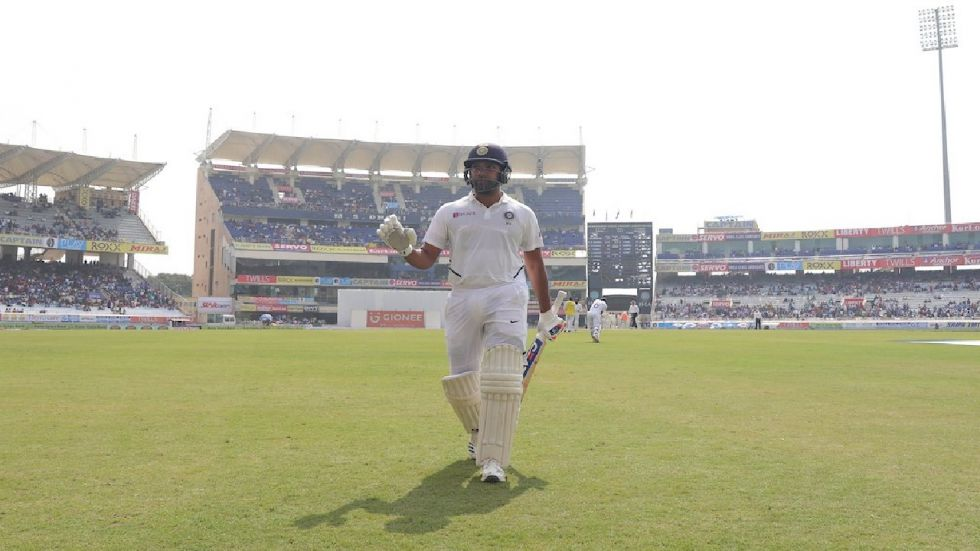 """Rohit Sharma feels his maiden double hundred in Test cricket was the """"most challenging"""