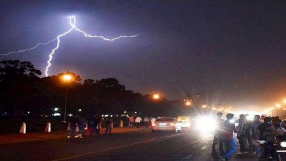 IMD Predicts Thunderstorm, Lightning In Maharashtra's Raigad District
