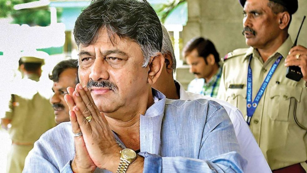DK Shivakumar was arrested by the Enforcement Directorate on September 3 after four-day grilling.
