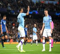 Raheem Sterling Scores Hat-Trick In 11 Minutes, Manchester City Beat Atalanta in UEFA Champions League