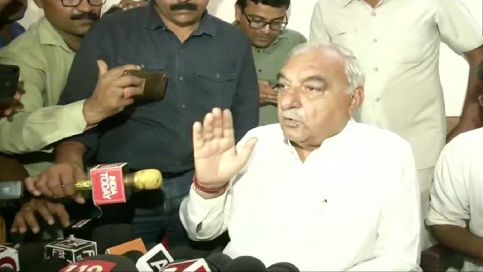 Bhupinder Singh Hooda also took a dig at BJP for eyeing around 75 seats in the state Assembly Elections.