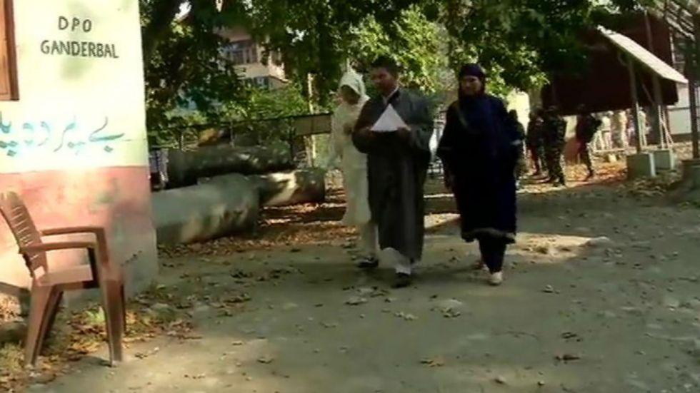 Srinagar recorded a 100 per cent turnout