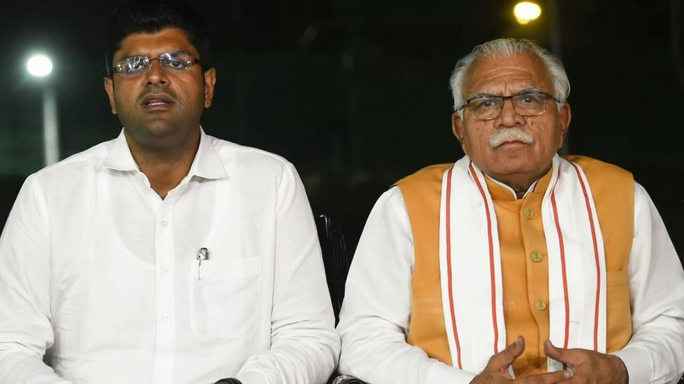 Manohar Lal Khattar may take the oath as Haryana CM on Sunday