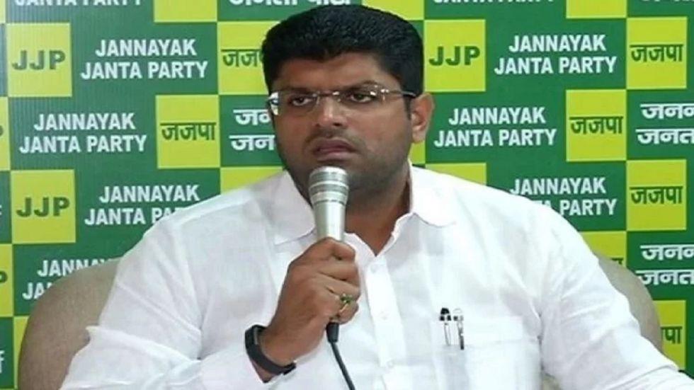 Jannayak Janta Party (JJP) leader Dushyant Chautala