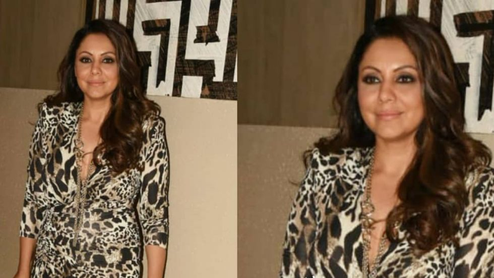 Gauri Khan's Animal-Print Dress Is Quite Expensive.