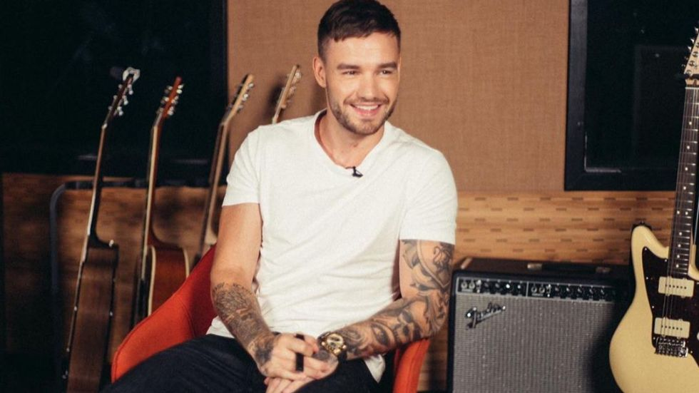 Former One Direction singer Liam Payne.