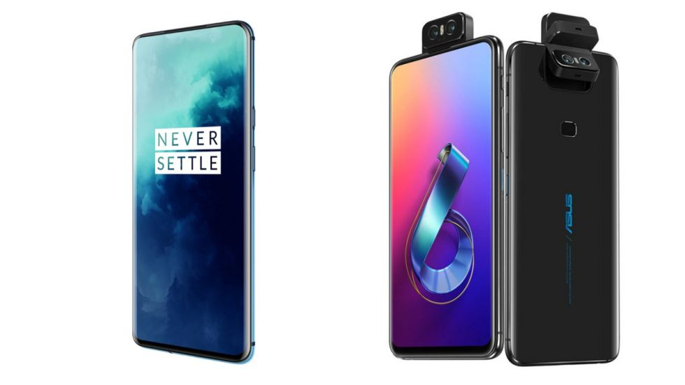 OnePlus 7T Pro Vs Asus 6Z