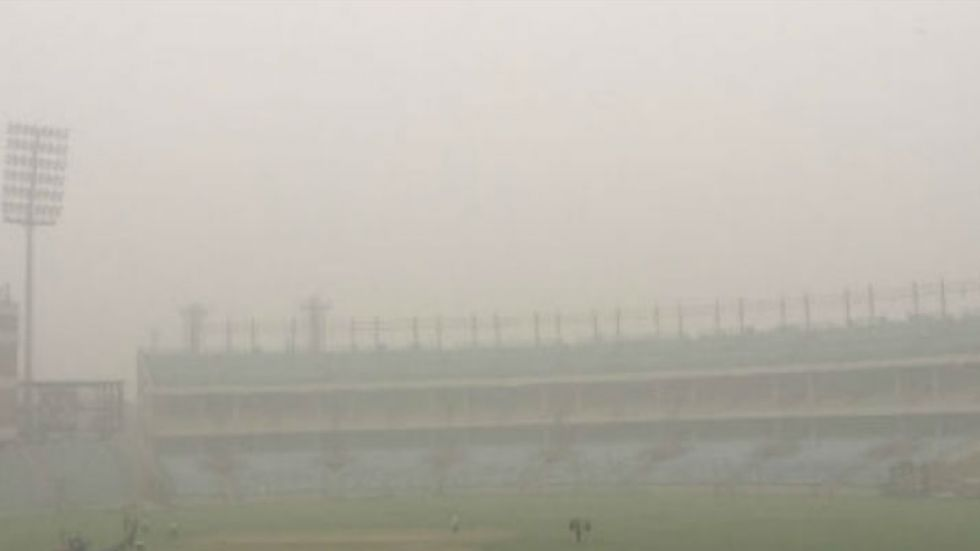 Delhi Chief Minister Arvind Kejriwal had hoped pollution will not affect the T20 match.