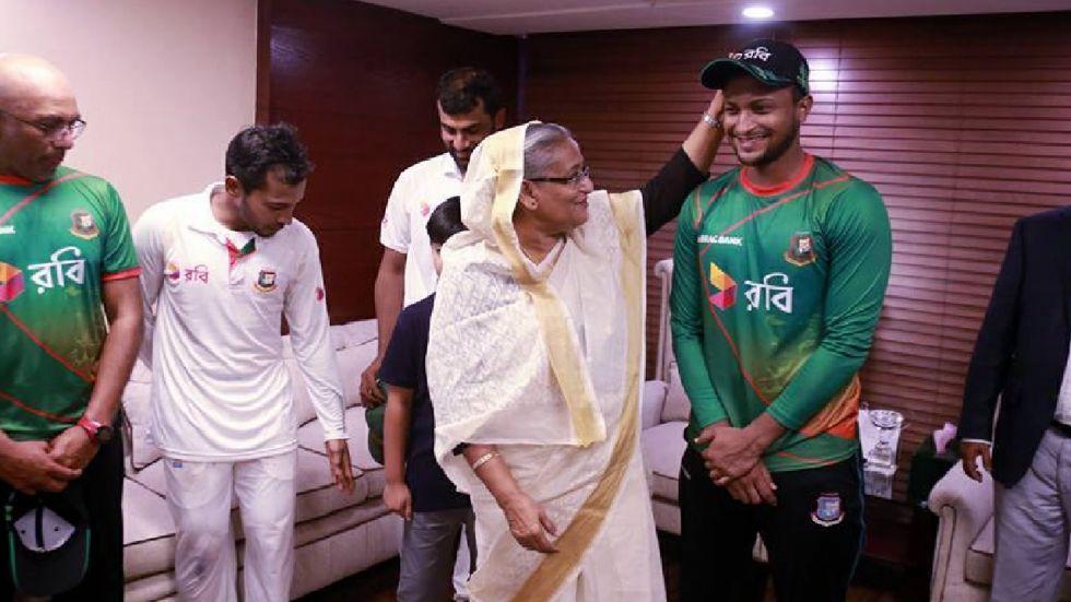 Bangladesh Prime Minister Sheikh Hasina said that BCB will stand by Shakib Al Hasan.