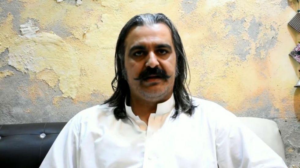 Ali Amin Gandapur is Pakistan Federal Minister for Kashmir Affairs and Gilgit Baltistan