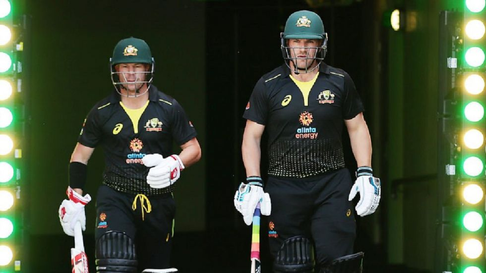 Warner and Smith came together after Aaron Finch was out for golden duck.