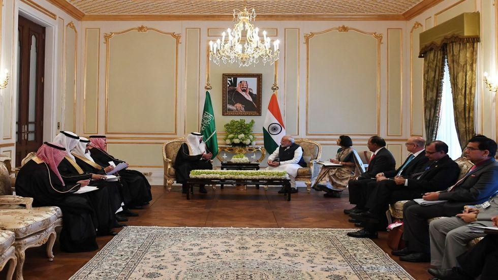 India, Saudi Arabia ink several pacts as PM Modi meets Kingdom's top leadership.