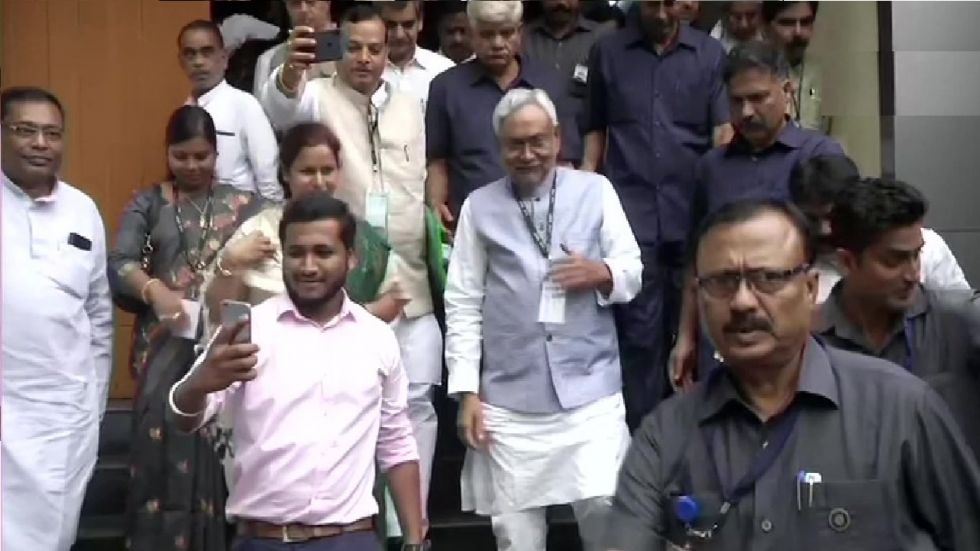 Nitish Kumar took over the reins of the JD-U in 2016.