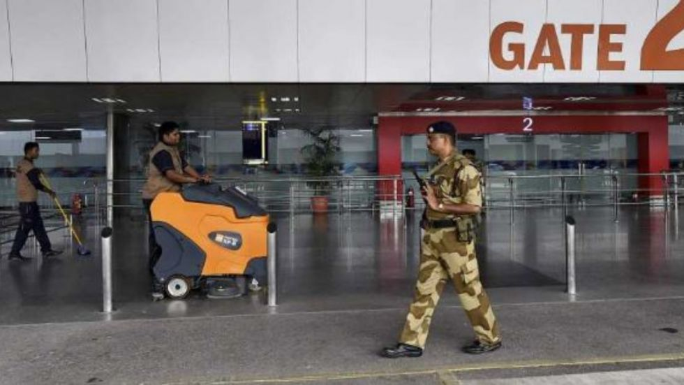Delhi: Suspicious bag reported at IGI airport, bomb squad called in