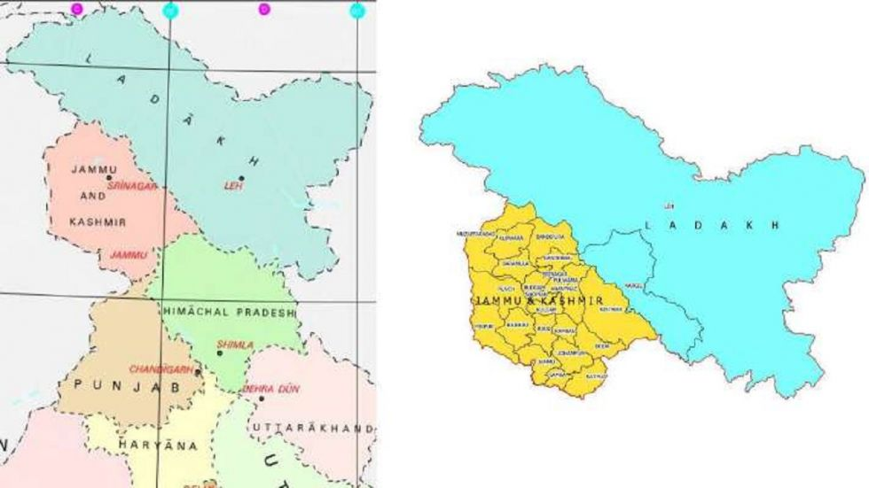 The Ministry of Home Affairs said the UT of Ladakh consists of two districts of Kargil and Leh