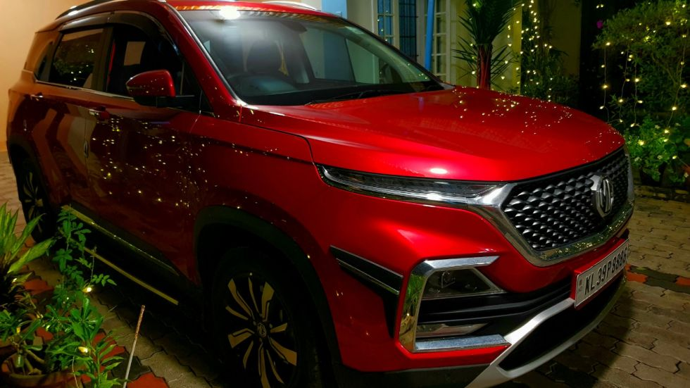 MG Motor Sells Over 3,500 Units Of Hector SUV In October