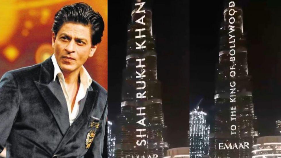 Watch: Burj Khalifa Lits Up To Wish Shah Rukh Khan Happy Birthday