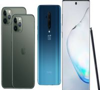 iPhone 11 Pro Max Vs OnePlus 7T Pro Vs Samsung Galaxy Note 10+: COMPARISON