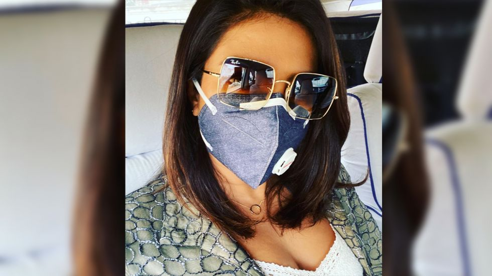 Priyanka Chopra is in Delhi for the shoot of her upcoming film The White Tiger.