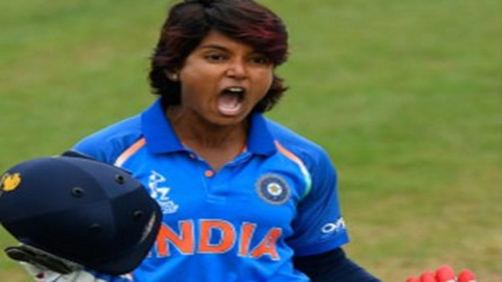 Punam Raut's magnificent 77 helped India beat West Indies by 53 runs and level the three-match series 1-1.