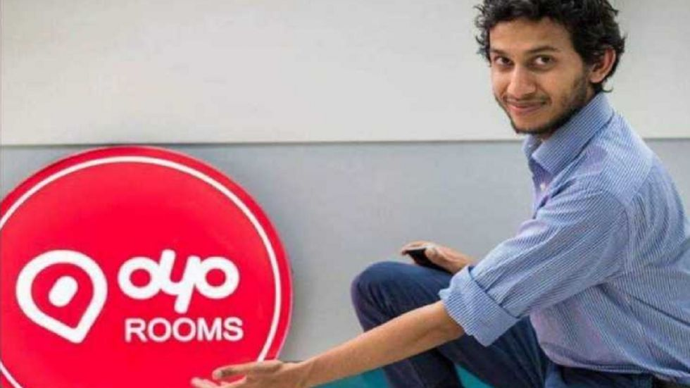 OYO Hotels and Homes founder Ritesh Agarwal.