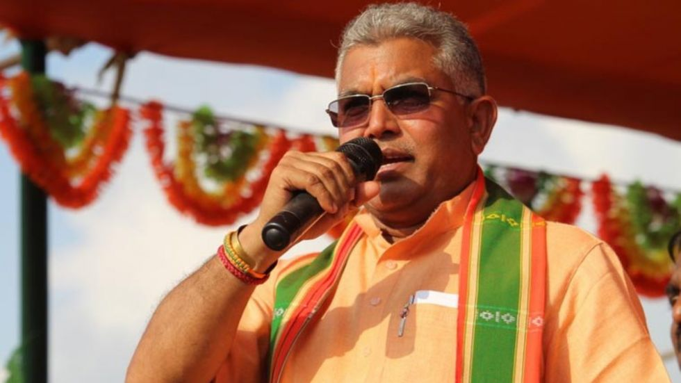 Addressing an event in West Bengal's Burdwan, Dilip Ghosh said that Indian cows' milk contain gold in it.