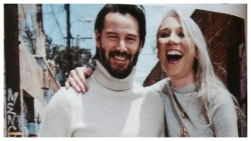 Keanu Reeves Goes Public With Girlfriend, Alexandra Grant
