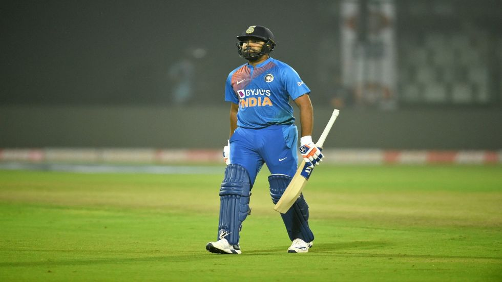 Rohit Sharma broke MS Dhoni's record and became the most capped Twenty20 International player for India.