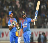 Rohit Sharma 85 Helps India Win Rajkot T20I By Eight Wickets, Level Series 1-1