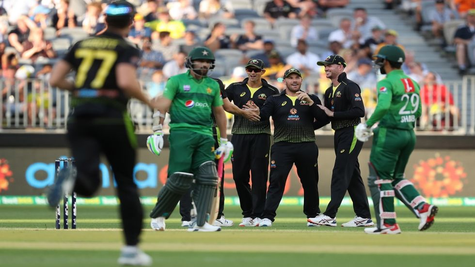 Australia defeated Pakistan by 10 wickets and they clinched the three-match Twenty20 International series 2-0.