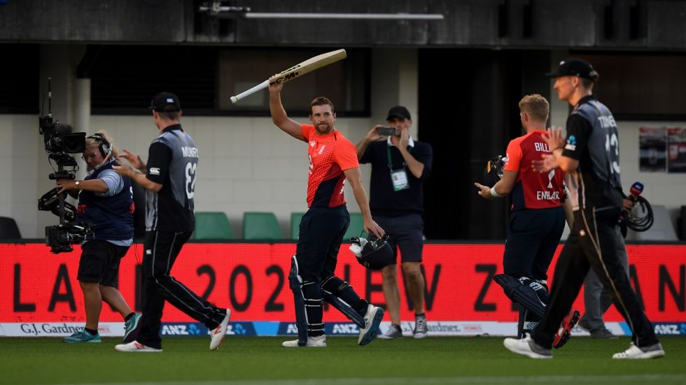 Dawid Malan scored the fastest century by an England player and he became the second to achieve the feat as records tumbled in the Napier T20I against New Zealand.