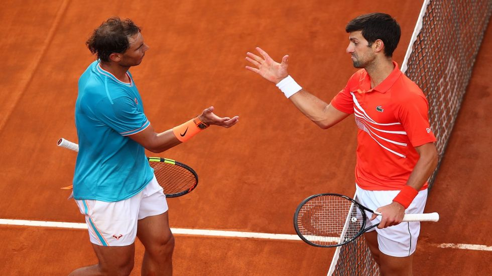 Novak Djokovic and Rafael Nadal have shared the 2019 Grand Slam titles, with Djokovic winning in Australia and Wimbledon while Nadal won the French Open and US Open.