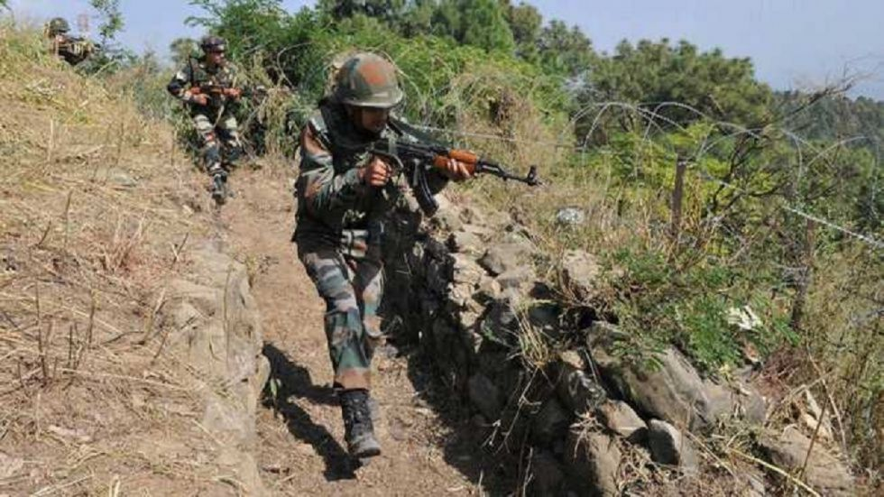 A soldier was killed after Pakistani rangers on Friday violated ceasefire in Jammu and Kashmir's Krishna Ghati sector.