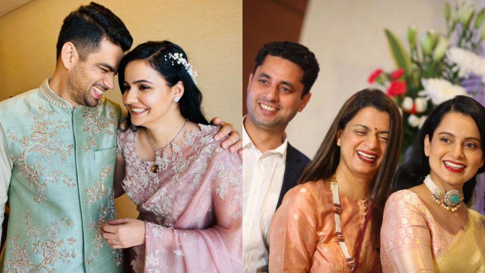 Kangana Ranaut's Brother Gets Engaged.