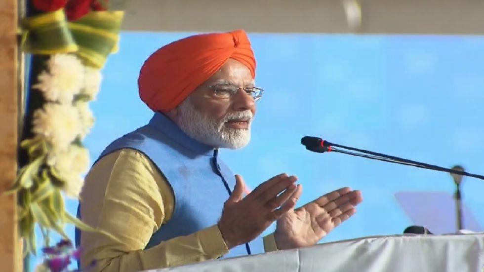 Prime Minister Narendra Modi on Saturday addressed devotees ahead of Kartarpur Corridor inauguration.