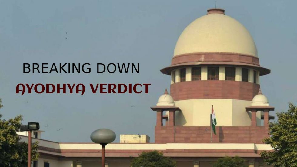 Supreme Court on Saturday granted the entire 2.77 acre of disputed land in Ayodhya to Ram Lalla