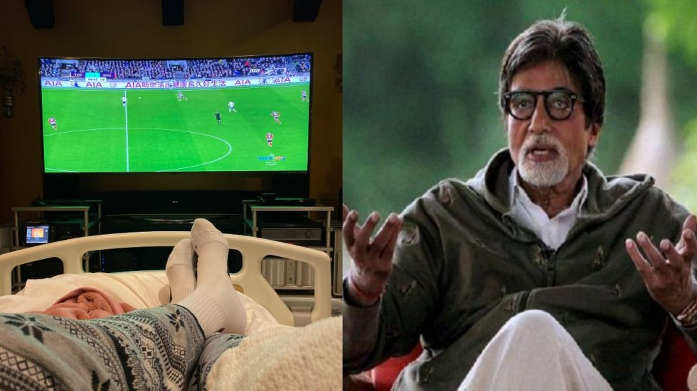 Amitabh Bachchan Posts Bed-Ridden Pic