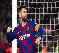 Lionel Messi Hits 'Dead-Ball' Hat-Trick, Barcelona Beat Celta Vigo 4-1