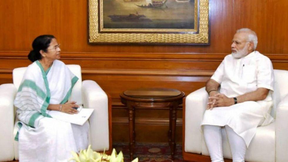 PM Narendra Modi and West Bengal CM Mamata Banerjee