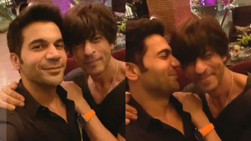 Rajkummar Rao And Shah Rukh Khan's Bromance Will Make Your Sunday Better.