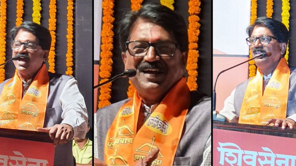 Arvind Sawant is Member of Parliament from South Mumbai.