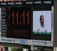 On 11/11/11, South Africa Needed 111 To Win At 11:11 AM Vs Australia