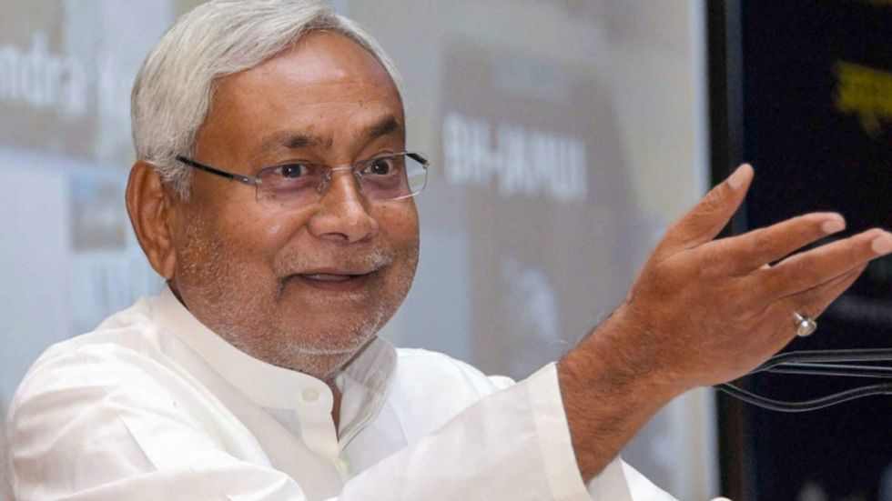 Janata Dal (United)'s Nitish Kumar