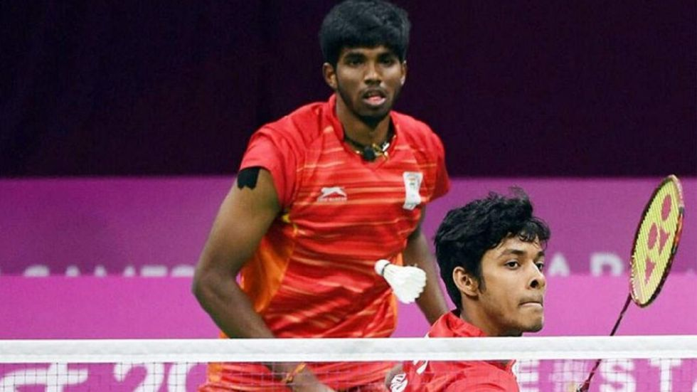 Satwiksairaj Rankireddy and Chirag Shetty finished runners-up at French Open and then made it to the China Open semifinals last week in men's doubles.